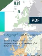 Presentation for Bulgaria