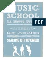 Music School Application