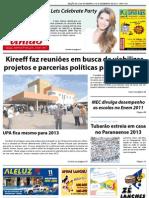 Jornal União - Edição de 23 de Novembro à 10 de Dezembro de 2012