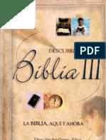 Edesio Sánchez Cetina ed. DESCUBRE LA BIBLIA 3