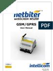 Netbiter WS200 User Manual