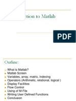 12695_Introduction to Matlab
