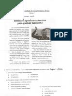 Teste de Português 8ºAno