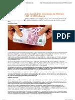 Sala & Serra Abogados La Amnistia Fiscal No Cumplira Las Previsiones de Montoro, recaudará entre 1000 y 2000 millones
