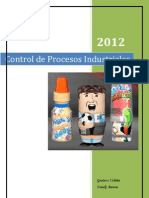 informe producción de caramelos