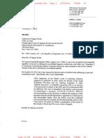 Arg9 NML Capital v Argentina 2012-11-27 Plaintiffs Letter to 2d Circuit