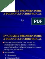 28972084 Evaluarea Preoperatorie a Bolnavului Chirurgucal