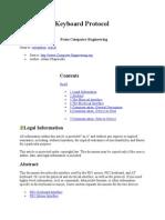 Ps/2 Keyboard Protocol