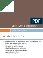 Arquivos Indexados