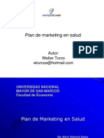 Plan Marketing Salud