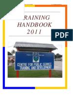 2011 Training Hanbook