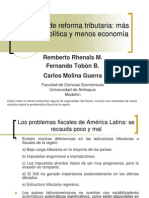 Proyecto Reforma Tributaria