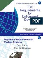 FCC Part 15 Regulations