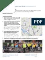 Northwest Seattle Bikeability Tour Report