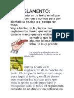 El Reglamento Mario Ruiz