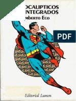 Eco, Umberto - Apocalípticos e Integrados
