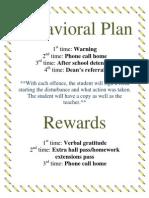 Behavioral Plan.docx