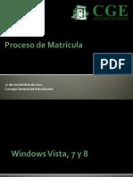 [CGE]ProcesoDeMatricula
