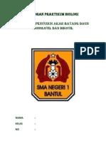 laporan biologi