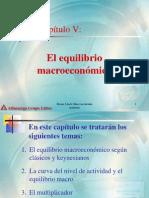 Capitulo 5 El Equilibrio Macroeconomico