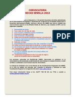 Beca Semilla Convocatoria 2012