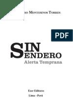 SIN SENDERO, ALERTA TEMPRANA_VLADIMIRO MONTESINOS TORRES