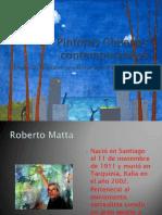 Pintores Chilenos contemporáneos