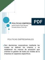 POLITICAS EMPRESARIALES