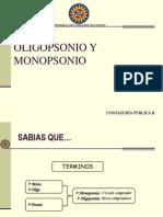 Oligopsonio y Monopsonio1