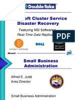 Ns i Disaster Recovery