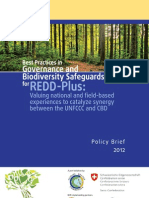 Best Practices in Governance and Biodiversity Safeguards for REDD-Plus