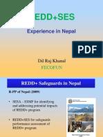 Khanal- REDD+ SES Experience in Nepal