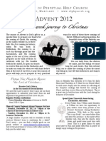 Advent Booklet 2012