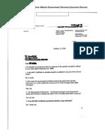 Alberta Government Services BIRTH CERTIFICATE Letter