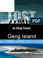 Geog Island You Have Been Shipwrecked on 'Geog Island'
