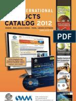 ASTM Catalog 2012