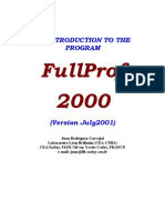 FullProf Manual
