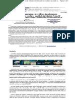 Fatores associados à prevalência de sobrepeso e obesidade em escolares na cidade de Ribeirão Preto, SP. Oliveira, Júnior; Simeão Júnior