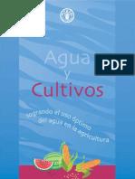 Agua y Cultivos