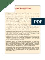 Edward Mandell House
