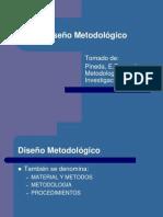 10. Diseño Metodológico