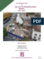 Pipe Lane Excavation 2012