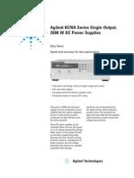 Agilent 657x Datasheet