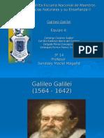 proceso de experimentacion Galileo Galilei