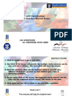 CSC Practice ACF Written Exam