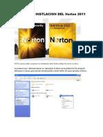 Manual de Instlacion Del Norton 2011