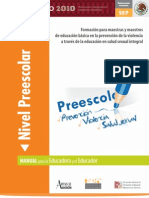 Manual Maestros Preesc Prevencion Violencia Educ Sexual Sep