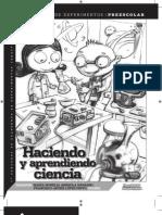 Cuaderno de Experimentos Para Preescolar y Primaria