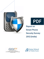 Smart Phone Security Survey 2012 India