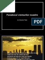 Paradoxul Vremurilor Noastre1 Gt7a